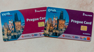 Prague Cards for students and adults for 3 days, Czech Republic