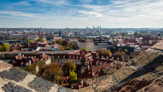 City View from Prague Castle, Czech Republic