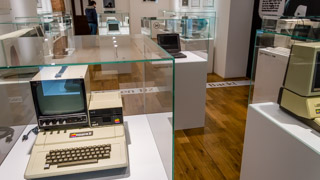 Computers in the Apple Museum, Prague, Czech Republic
