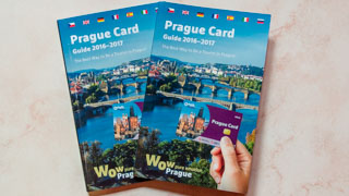 Free Prague guide book in 7 languages, Czech Republic
