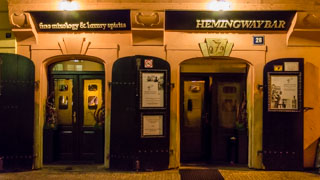 Hemingway Bar, Prague, Czech Republic