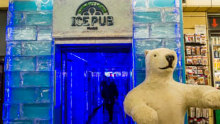 Ice Pub, Prague, Czech Republic