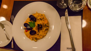 Risotto with seafood, Prague, Czech Republic