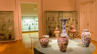 Vases in the National Gallery, Prague, Czech Republic